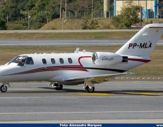 AeroTv - Cessna 525 Citation CJ1 PP-MLA
