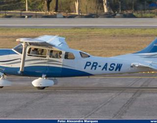 AeroTv - Cessna T206H Stationair PR-ASW