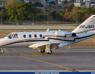 AeroTv - Cessna 525 CitationJet CJ1 PR-JNW