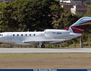 AeroTv - Cessna 750 Citation X PT-MMN
