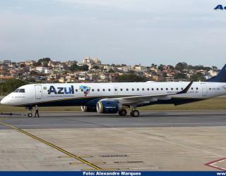 AeroTv - Embraer 195 da Azul PR-AYL