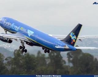 AeroTv - Airbus A330 da Azul PR AIT