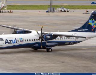 AeroTv - ATR 72 600 da Azul PR AKD