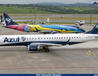 AeroTv - Embraer 195 PR AUC da Azul
