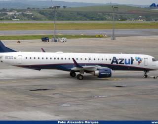 AeroTv - Embraer 195 PR AUK da Azul