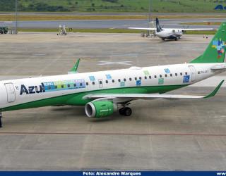 AeroTv - Embraer 195 PR-AYX da Azul