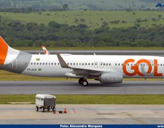 AeroTv - Boeing 737 800 PR GGK da Gol