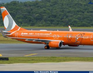 AeroTv - Boeing 737 800 PR GTM da Gol