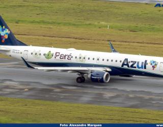 AeroTv - Embraer 195 PR-AUN da Azul