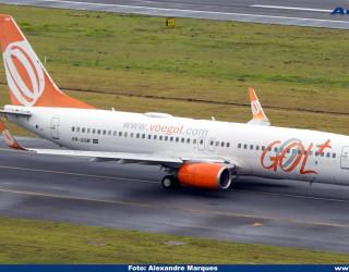 AeroTv - Boeing 737 800 PR-GGM da Gol