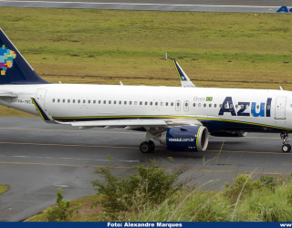 AeroTv - Airbus A320neo PR-YRC da Azul