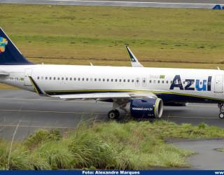 AeroTv - Airbus A320neo PR-YRJ da Azul