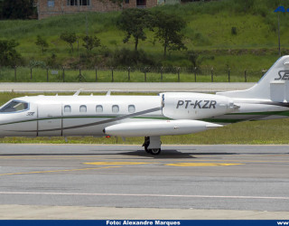 AeroTv - Gates Learjet 35A PT-KZR