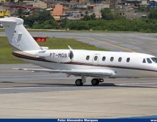 AeroTv - Cessna 650 Citation VII PT-MGS