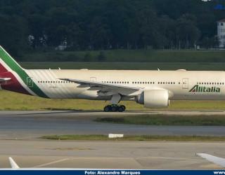 AeroTv - Boeing 777 da Alitalia EI-DBL