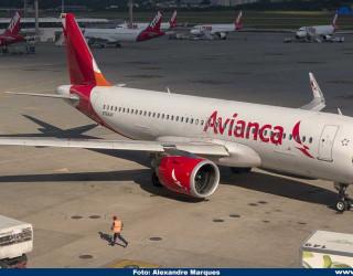 AeroTv - Airbus A320neo da Avianca N766AV