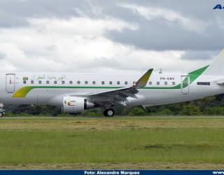AeroTv - Embraer 175 da Mauritania Airlines 5T-CLL