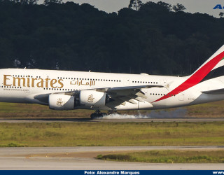 AeroTv - Airbus A380 da Emirates A6-EVF
