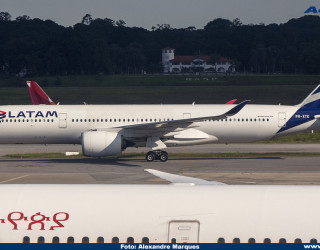 AeroTv - Airbus A350 da Latam PR-XTE