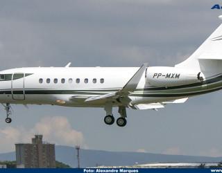 AeroTv - Falcon 2000LX PP-MXM