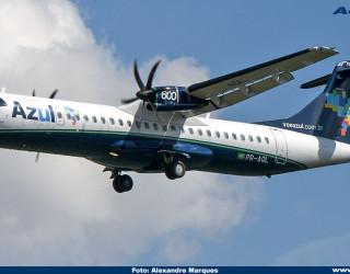AeroTv - ATR 72-600 da Azul PR-AQL