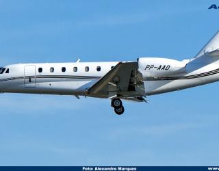 AeroTv - Cessna Citation 680 PP-AAD