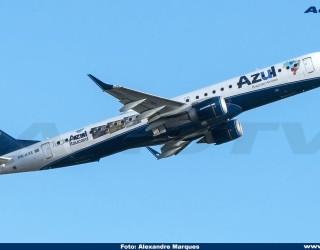 AeroTv - Embraer 195 PR-AXE da Azul