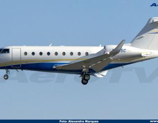 AeroTv - Gulf G280 N545C