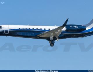 AeroTv - Embraer Legacy 650 PT-FKK