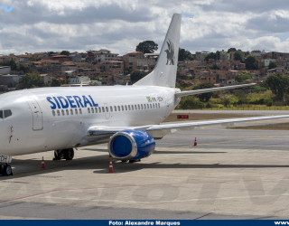 AeroTv - Boeing 737 da Sideral PR-SDH