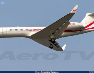 AeroTv - Gulf G550 N586RW