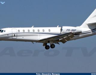 AeroTv - Cessna Citation 680 PR-BBP