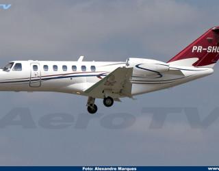 AeroTv - Cessna CitationJet CJ3 PR-SHC