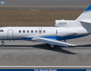 AeroTv - Dassault Falcon 50EX N701P