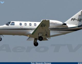 AeroTv - Cessna CitationJet CJ1 PP-SDY