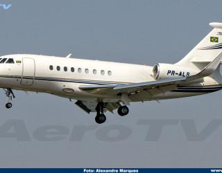 AeroTv - Dassault Falcon 2000EX PR-ALS