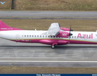 AeroTv - ATR 72-600 da Azul PR-AKF