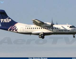 AeroTv - ATR-42 da Trip PP-PTF
