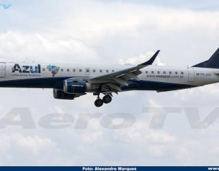 AeroTv - Embraer 195 PR-AYK