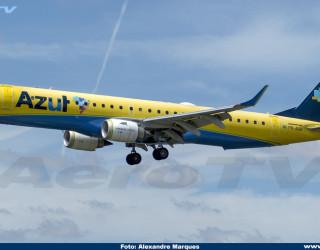 AeroTv - Embraer 195 Azul PR-AUA