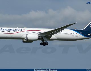 AeroTv - Boeing 787 Aeromexico XA-ADD