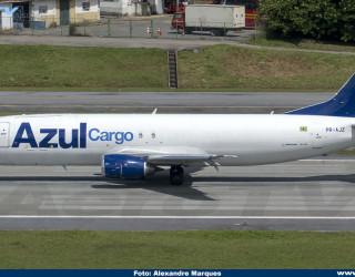 AeroTv - Boeing 737 PR-AJZ da Azul Cargo