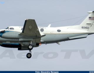 AeroTv - Beech C-12C Huron 76-0163