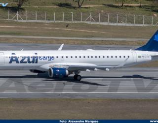 AeroTv - Embraer 195 Azul Cargo PR-AYO
