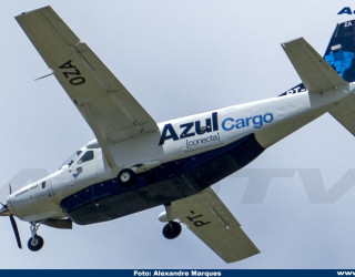 AeroTv - Cessna 208B Super Cargomaster Azul PT-OZA