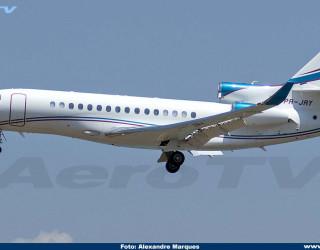AeroTv - Dassault Falcon 8X PR-JRY